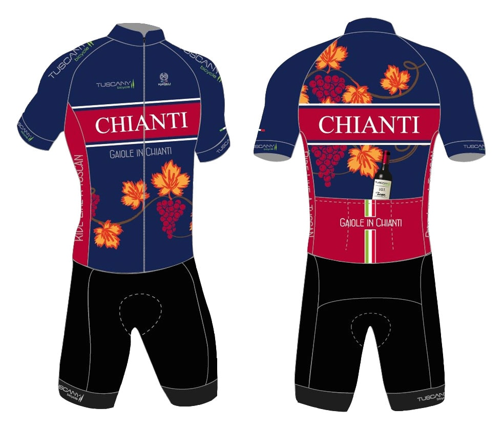 Chianti Vineyards Cycling Jersey fcfd806a2